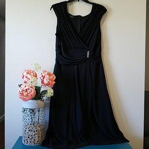 NWOT AGB Black Cocktail Dress